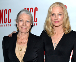 Vanessa Redgrave and daughter Joely Richardson