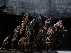 A scene from &lt;i&gt;War Horse&lt;/i&gt;