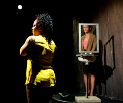 Lisha McKoy and Aleisha Force in <i>Normalcy</i>