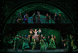 The touring company of <i>Wicked</i>