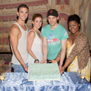 PHOTO FLASH: <i>Ghost the Musical</i> Celebrates 100th Performance