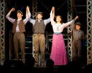 Corey Cott as Jack Kelly in <i>Newsies</i>