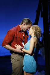 Teddy Thau Rhodes and Lisa McCune in <i>South Pacific</i>
