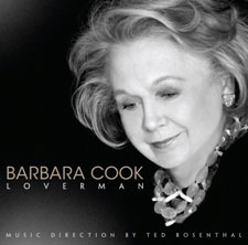 CD cover art for Barbara Cook's <i>Loverman</i>