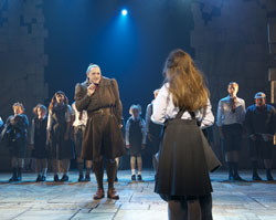 A scene from the London production of <i>Matilda the Musical</i>