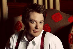 Clay Aiken in publicity photo for his <i>Joyful Noise Tour 2012</i>