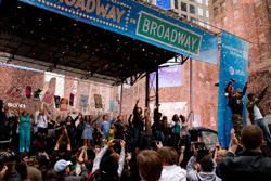 The finale of the 2012 <i>Broadway on Broadway</i> concert