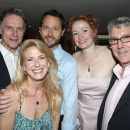 PHOTO FLASH: Leslie Hendrix, Michael Rupert and <i>7th Monarch</i> Company Celebrate Off-Broadway Opening