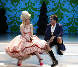 Brooke Bloom and Jake Silberman in <i>Marie Antoinette</i>