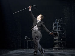 Rob McClure in <i>Chaplin</i>