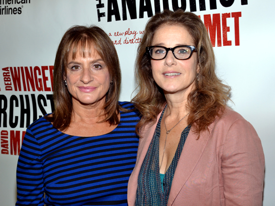 Patti LuPone and Debra Winger star in David Mamet&#039;s &lt;i&gt;The Anarchist&lt;/i&gt;, beginning previews on November 13 at the John Golden Theatre.