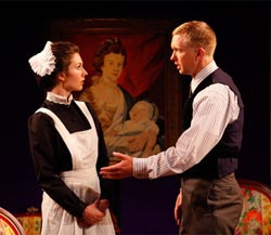 Janie Brookshire and Roderick Hill in <i>Mary Broome</i>
