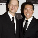 Michael Feinstein and David Hyde Pierce at Feinstein's at Loews Regency