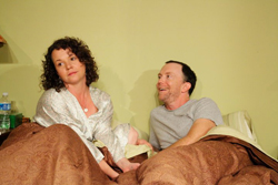 Michele Gagliano and Mike O'Neil in <i>Positions</i>