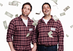 David Rossmer and Steve Rosen as <i>The Other Josh Cohen</i>