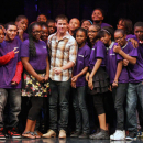 PHOTO FLASH: Nick Jonas at the Shubert Foundation/MTI Broadway JR. Student Celebration