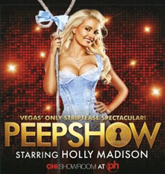 Holly Madison featured in promotional art for <i>Peepshow</i>
