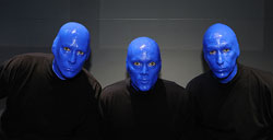 Blue Man Group in Las Vegas