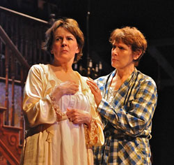 Mary Rawson and Kathleen Turco-Lyon in <i>August: Osage County</i>