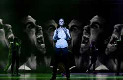 Richard Fleeshman in <I>Ghost</i>