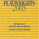Ferguson, Knowlton, and Aulisi to Read From <i>Plays and Playwrights</i>