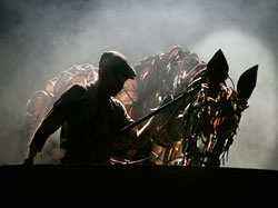 <i>War Horse</i> is one of the many Touring Broadway productions that will benefit from The Broadway League's National Education Grants