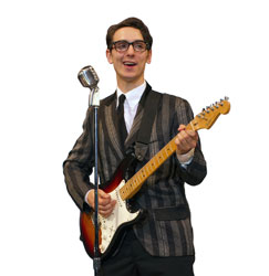 Kurt Jenkins stars in <i>Buddy, The Buddy Holly Story</i>