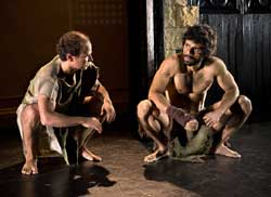 Ivano Pulito and Alex Coelho in <I>Job</i>