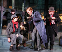 Quentin McCuiston, Ames Adamson, Andy Paterson in <i>Oliver Twist</i>