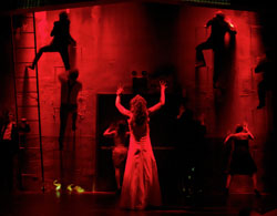 A scene from the recent revival of <i>Carrie the Musical</i>