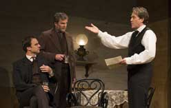 James Waterston, John Proccacino, and Boyd Gaines in <I>An Enemy of the People</I>