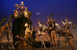 A scene from <em>The Lion King</em>