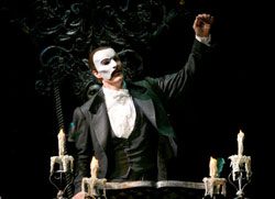 Howard McGillin in <em>The Phantom of the Opera</em>