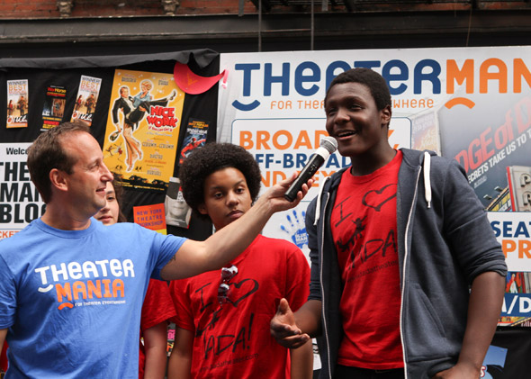 "Kids from <a href=""http://www.theatermania.com/new-york/theaters/tada-theater_756/"" target=""_blank"">TADA! Theater</a> at the 37th Annual Third Avenue Community Benefit Street Fair."