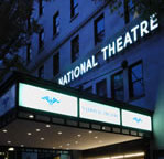 The National Theatre marquee