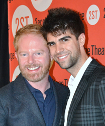 Jesse Tyler Ferguson and Justin Mikita