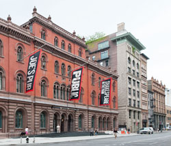 Exterior of the Public Theater