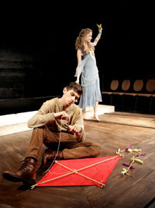 David Armanino and Tess Frazer in <i>Something Wild</i>