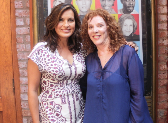 Mariska Hargitay and Joanna Rush