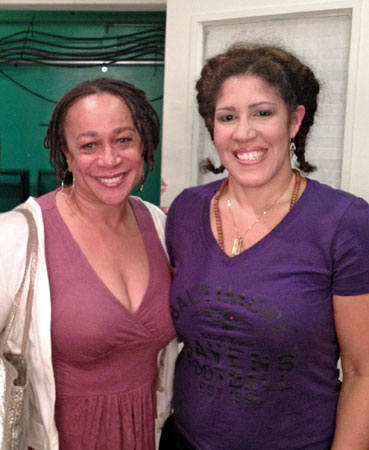 S. Epatha Merkerson and Rain Pryor