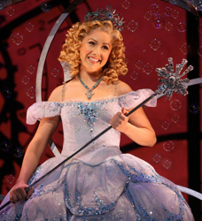 Alli Mauzey as Glinda in <i>Wicked</i>