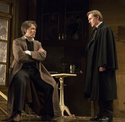 Boyd Gaines and Richard Thomas in <i>An Enemy of the People</i>