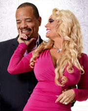 Ice-T and Nicole 'Coco' Austin in promo image for <i>Ice Loves Coco</i>