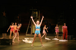 A scene from the revival of <i>South Pacific</i> at Lincoln Center's Vivian Beaumont Theater