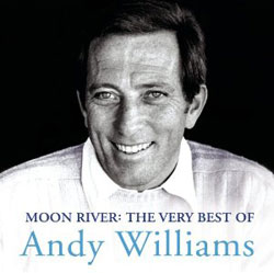 CD cover art for Andy Williams' <i>Moon River: The Very Best of Andy Willaims</i>