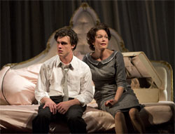Finn Wittrock and Diane Lane in <i>Sweet Bird of Youth</i>