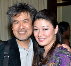 David Henry Hwang and Jennifer Lim