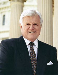 The late Senator Edward M. (Ted) Kennedy