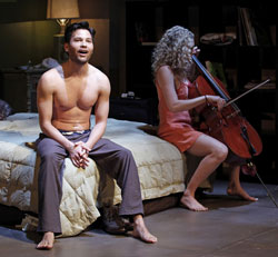 Jason Tam and Lauren Molina in <i>Marry Me a Little</i>