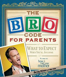 Neil Patrick Harris narrates the audio book for <i>The Bro Code for Parents</i>
